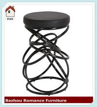 New model metal frame comfort high bar stool chair