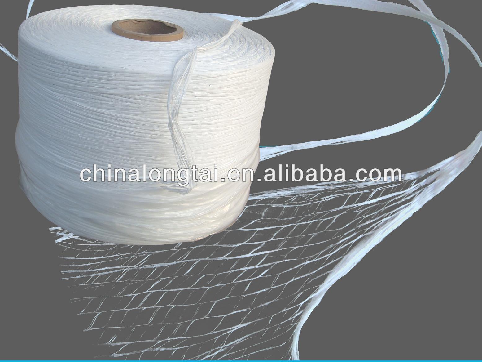 Pp fibrilada fios de enchimento/6mm filler string fabricante