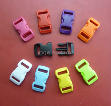 Colored quick release plastic buckle for bags,luggages