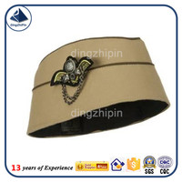 high quality airline pilot attend cap train conductor hats