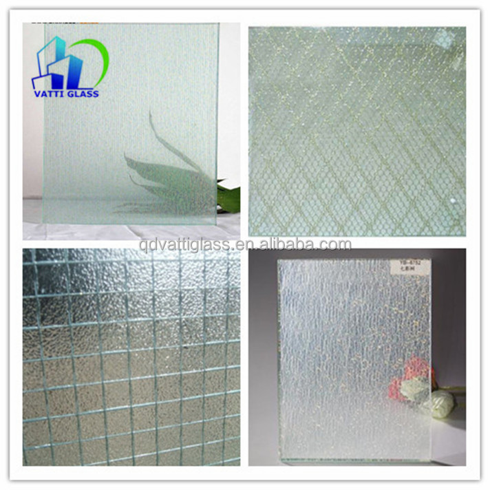 Safety Laminated Wired Glass For Decoration Laminated Safety Glass ...
