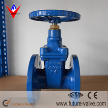 Ductile Iron DIN F4 Resilient Seated Gate Valve