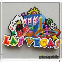 Free Design Non-toxic Poker Style Promotional PVC Fridge Magnets