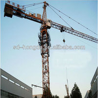 Safe Driving 60M Jib Length Tower Crane With 60M Jib