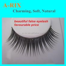 synthetic lash fashion style permanent false eyelashes with factory price