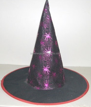 Vinyl Witch Hat for Halloween Fancy Dress Accessory
