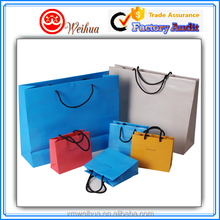 New products top saling Women's Luxury kraft paper shopping gift paper packaging bags with custom size