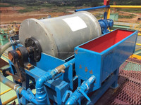 high magnetic field gradient washingtonite ore separator machine