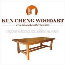 Antiguos de madera mesa de café cum tronco de almacenamiento/vintage antiguo rústico de pino mesa de té