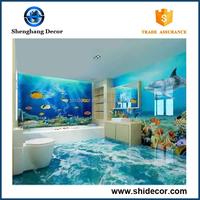 2015 High quality modern home decoration 3d flooring tile