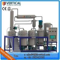 VTS-PP Small essential oil distiller Waste oil distillation equipment Pyrolysis oil distillation plant