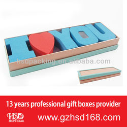 "Romantic Valentine's Day Gift Box with ""I love you"" Letters(HSD-H3148)"
