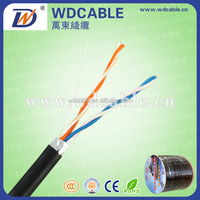 shenzhen factory supply 2 core 0 .5 BC telephone cable