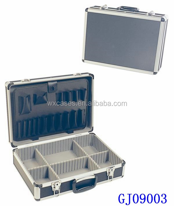 Fedex Pickup Fee >> Strong Aluminum Briefcase Tool Boxes With Tools Store System&adjustable Compartments Inside ...