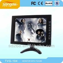 Best Selling HIGH Resolution 10 TFT LCD TV inch Monitor