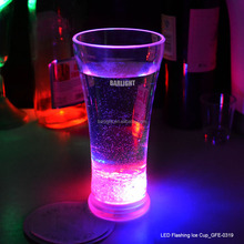 Bar Item LED Flashing Ice Glass For Party Decoration