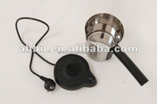 commercial stainless steel and plastic electric mini coffee machines