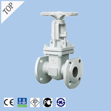 China Stainless Steel flange gate Valve suitable for the nitric acid