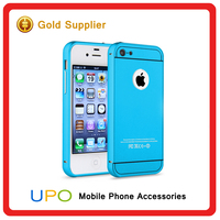 Ultra-thin Shockproof Aluminum Metal Bumper Case for iphone 4s, mobile cover for iphone 4s
