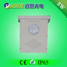 8W hot sale high quality integrated all in one solar led street light outdoor floor road beads water