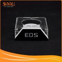 Professional Customizing Acrylic Camera Lens Display/Plexiglass Camera Lens Stand