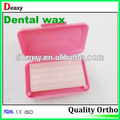 Dental de la placa base 100% cera comestible puro de ortodoncia dental de cera