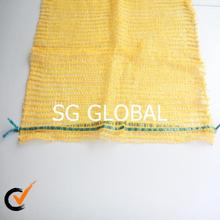 fruit and vegetables packing hdpe raschel mesh net bag