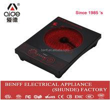 No electromagnetic radiation 2000W gel stove heating radiator ceramic cookware
