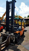 5ton used forklift toyota, forklift clamp attachments