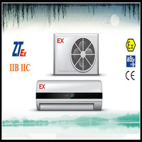 wall mounted explosion proof media split air conditioner made in China for IIB IIC