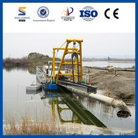 8 inch 12 inch 20 inch Sand Pump Dredger for River Desilting
