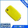 Custom design colorful silicone car key case