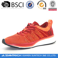 Confident mens and womens running shoes
