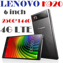 Lenovo's latest products Lenovo VIBE Z2 Pro K920 4G LTE Mobile Phone Snapdragon 801 Quad Core 2.5GHz 6.0 inch 2560x1440 3GB 32G