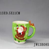 2014 Wholesale Stoneware Reactive Glazed Creative Mug High Quality /Ceramic artistic Coffee Cup Ceramic tea Mug Creative Mug