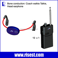 RE-902 Waterproof Bone Conduction Transducer with Music MP3 Player and FM Receiver for Swimming Coach