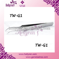 Curved Tweezers for Eyelash Extensions