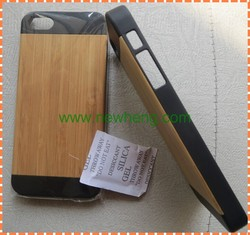 natural wood pc phone case for iphone 6s