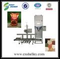 Adubo granulado máquina de embalagem, adubo composto quantitativo embalagem escala; grânulo de uréia equipamento de embalagem