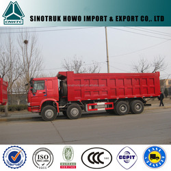 SINOTRUK HOWO 2015 hot selling 8x4 dumper made in china