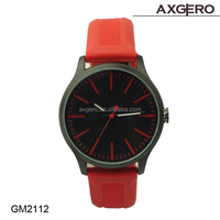 2014 New design rubber band watch silicone rubber watch!! Hot selling quartz movt silicone rubber watch for women!!