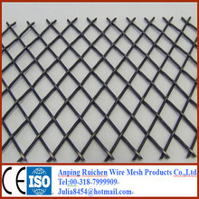 power coated aluminum expanded metal mesh for modern house design with manufacture from Anping