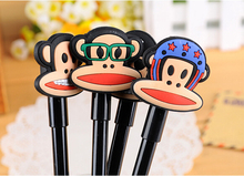 New Design Cartoon Monkey Plastic Pen