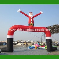 China factory cheap price christmas inflatable arch[H12-1437]