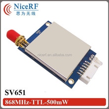 2015 Wholesale Radio Frequency Transceiver Module in 868MHz TTL Interface Wireless RF Transceiver Module