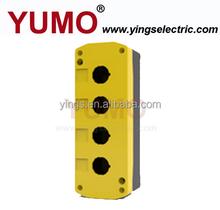 LAY5-JBPN4 IP54 four holes 22mm push button control box parts accessories enclosure plastic box enclosure electronic
