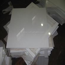 super white nano glass floor tiles home stone decoration deco