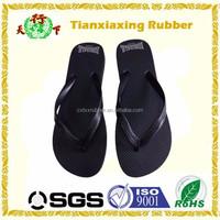 black men slippers, black sole rubber flip flops, personalized design flip flops