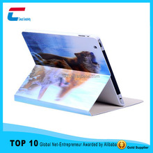New Customized for ipad mini 3 case/flip leather case cover for ipad mini 3/colorful printing case for ipad mini 3