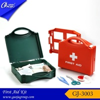 GJ-3003 17year manufacture ABS material large size multi-function first aid box,first aid kit box,empty first aid box
